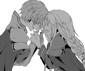 alice, anime girl, and sad image