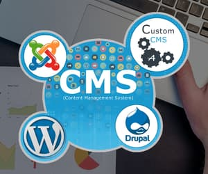 cms development, best cms, and best open source cms image