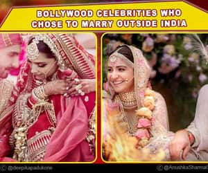 marriage, bollywood celebrities, and marry outside india image