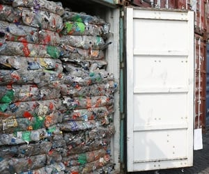 environment, pollution, and plastic waste image