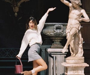aesthetics, art gallery, and statue image