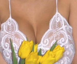 classic, flowers, and lingerie image
