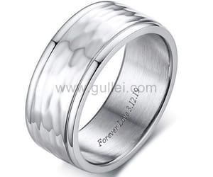 anniversary, wedding, and mens promise rings image