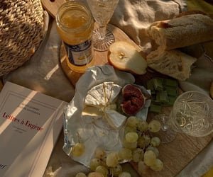 aesthetics, bread, and cheese image