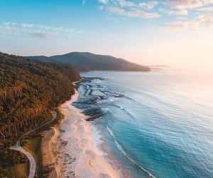 beach, ocean, and ocean view image