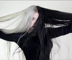 black, color, and dye image