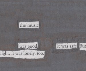 archive, lonely, and music image
