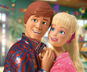 barbie, ken, and toy story image