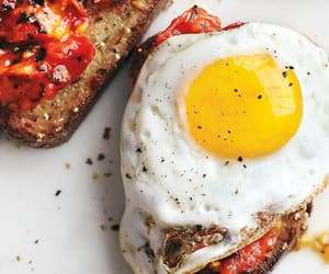 delicious, eat, and eggs image