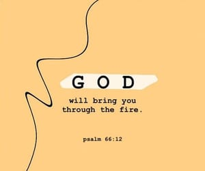 believe, bible, and fire image