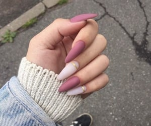 beautiful, white, and gel nails image