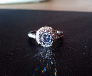 etsy, rings, and round cut diamond image