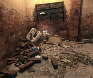 basement, debris, and ruin image