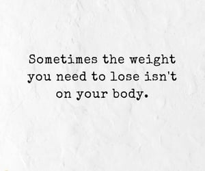 body, lose, and quotes image