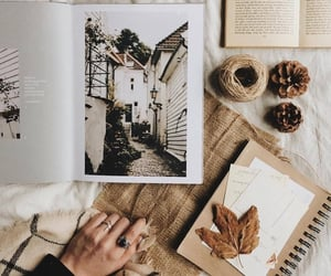 autumn, picture, and book image