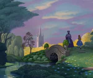 disney, wallpaper, and alice in wonderland image