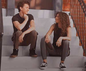zendaya and tom holland image