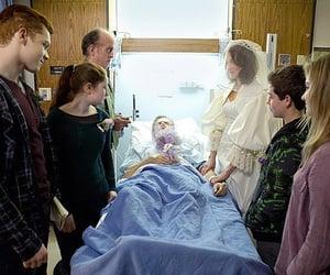 hospital, wedding, and shameless image