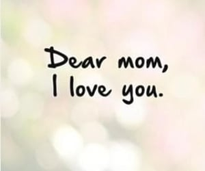 dp, I Love You, and mom image