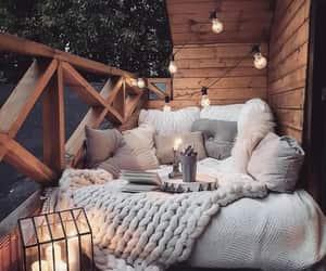 light, balcony, and home image