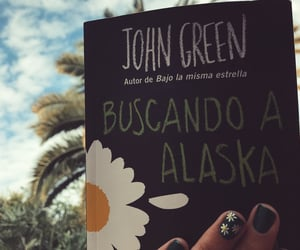 book, libro, and john green image