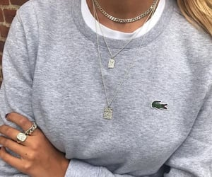 fashion, jewelry, and lacoste image