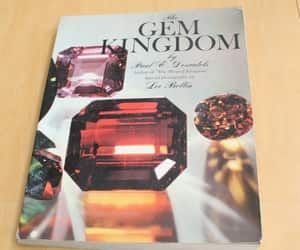 etsy, softcover book, and about gemstones image