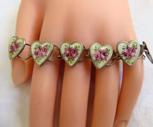 etsy, baby jewelry, and heart bracelet image