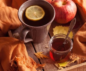 apples, honey, and autumn image