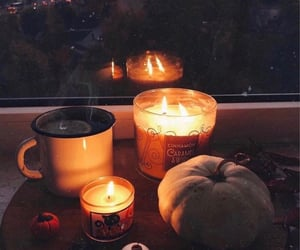 candles, cozy, and aesthetic image