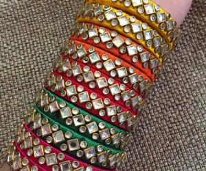 bangles, beautiful, and girly image