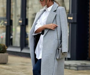 chic, clothes, and coat image
