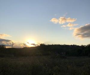 inspiration, nature, and sunset image