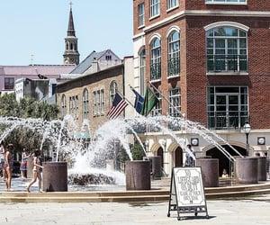 charleston, South Carolina, and water fountain image