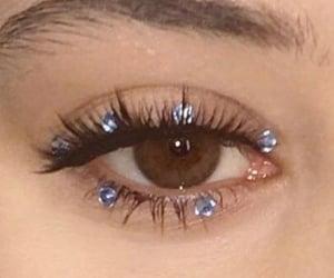 makeup, eye, and pretty image