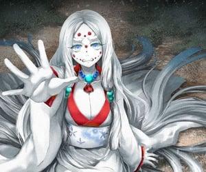 anime girl, sad, and demon slayer image