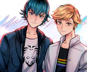 Adrien, anime, and luka image