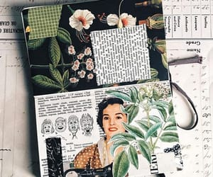 art, green, and bujo image