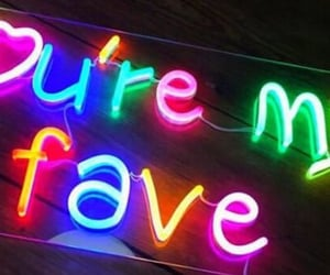 neon, neon lights, and neon signs image