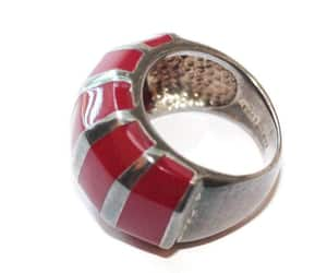 etsy, avant garde ring, and thailand ring image