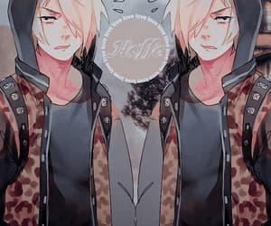 anime, gif, and bg image