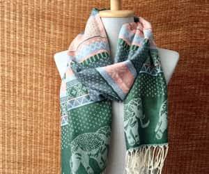 bohemian, hippie, and boho scarf image