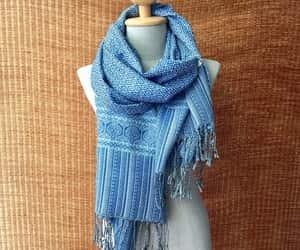 bohemian, winter scarf, and gift for him image