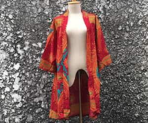 bohemian, colorful clothes, and kimono image