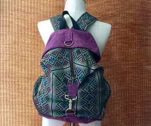 etsy, baja backpack, and boho style image