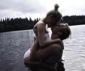 kissing and couple image
