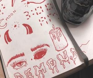 bored, candle, and eyes image