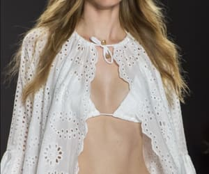 details, model, and runway image