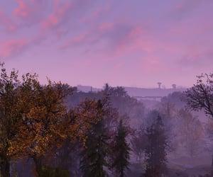 autumn, dusk, and fallout image