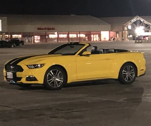 cars, ford mustang, and ford image